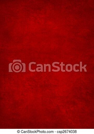 résumé, arrière-plan rouge - csp2674038