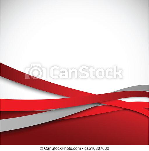 résumé, arrière-plan rouge - csp16307682