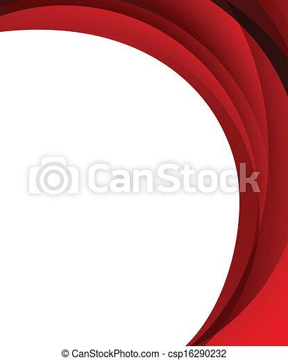 résumé, arrière-plan rouge - csp16290232