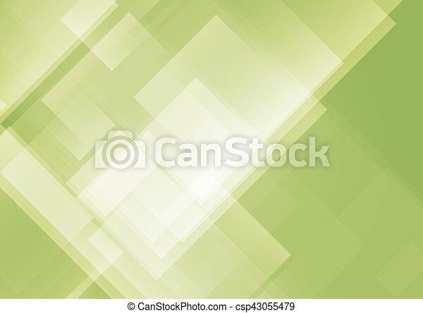 résumé, arrière-plan vert - csp43055479