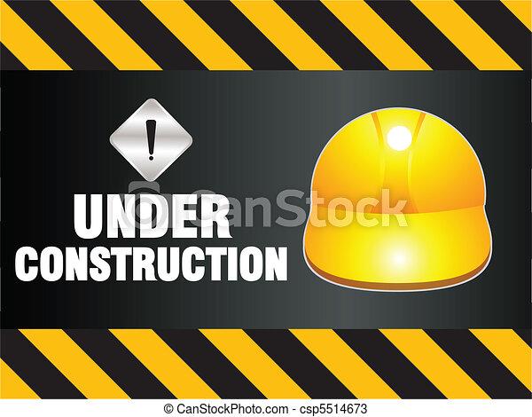 résumé, construction, fond - csp5514673