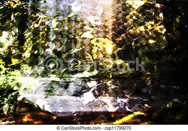 résumé, fond, texture, brouillé - csp11799270