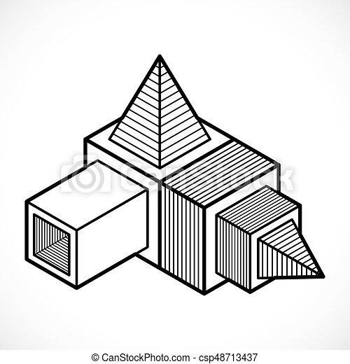 Resume Forme Formulaire Vecteur Geometrique 3d