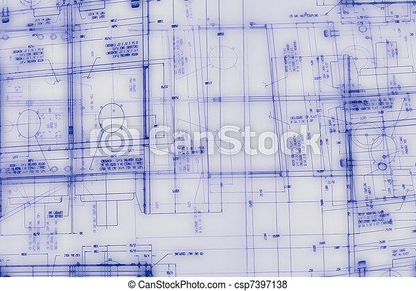 résumé, ingénierie, fond, dessin - csp7397138