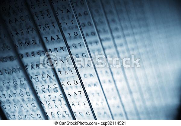 résumé, lettres - csp32114521