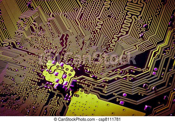 résumé, planche, circuit - csp8111781