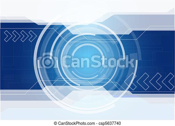 résumé, technologie, fond - csp5637740