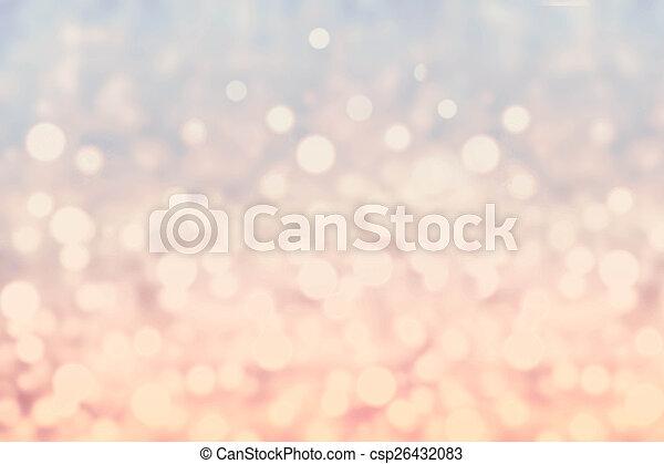 résumé, twinkled, clair, li, bokeh, defocused, fond, barbouillage - csp26432083