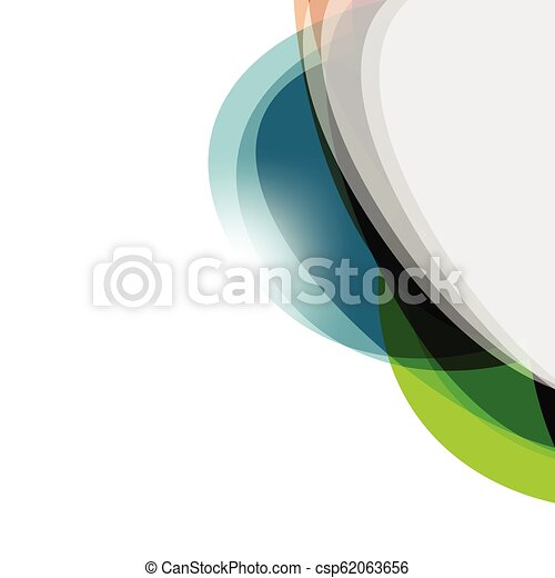 résumé, vecteur, conception, coloré, fond - csp62063656