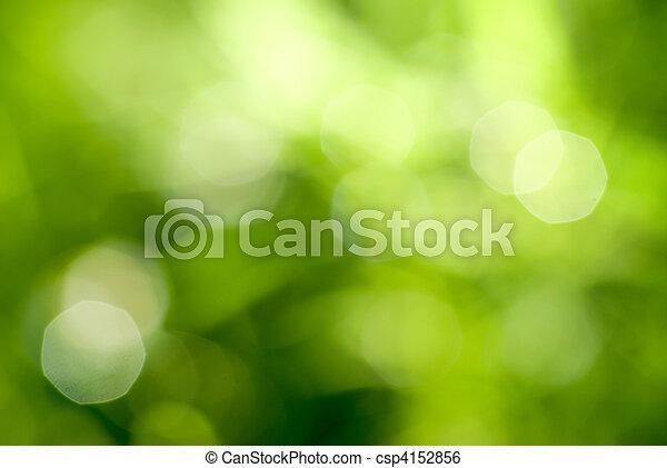 résumé vert, backgound, naturel - csp4152856