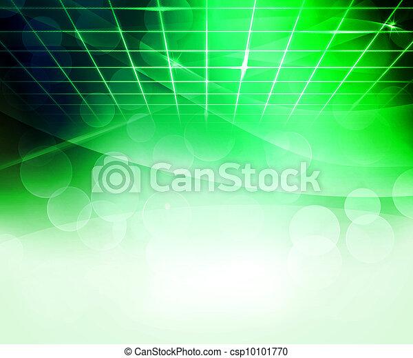 résumé, vert, virtuel, fond - csp10101770