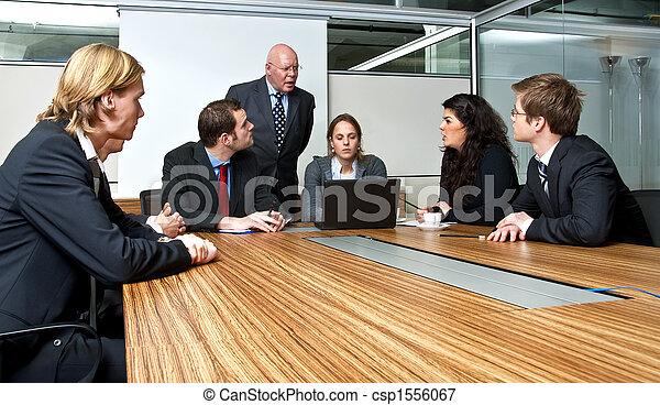 réunion, bureau - csp1556067