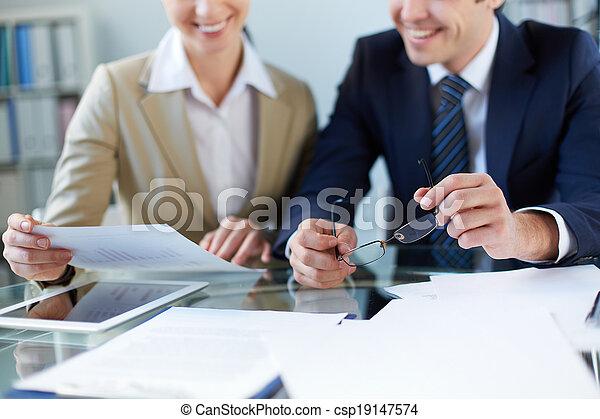 réunion, business - csp19147574