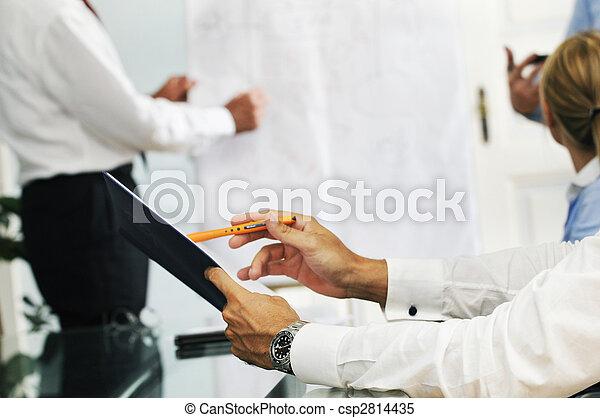 réunion, business - csp2814435
