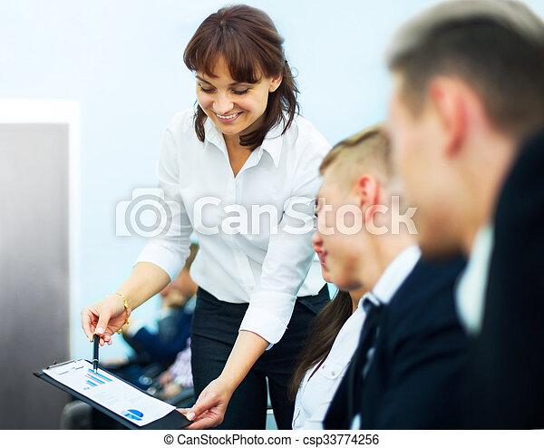 réunion, business - csp33774256