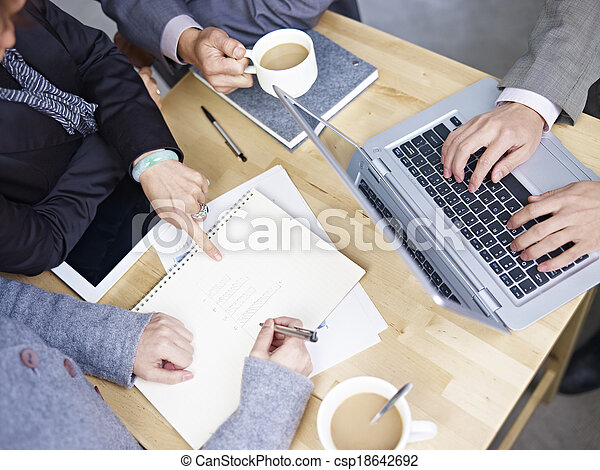 réunion, business - csp18642692