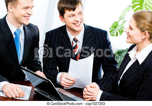 réunion, business - csp1027203