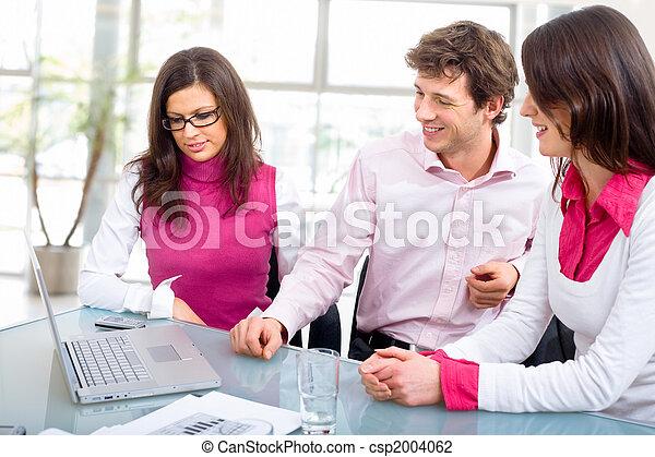 réunion, personnel bureau - csp2004062