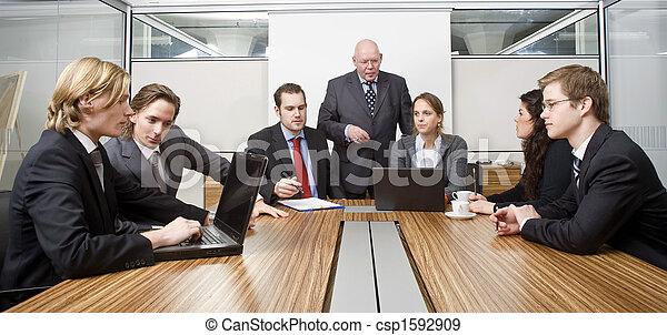 réunion salle réunion - csp1592909