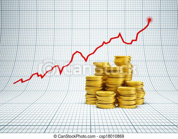 réussi, investissement - csp18010869