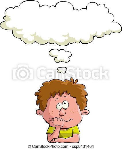 rêver, enfant - csp8431464