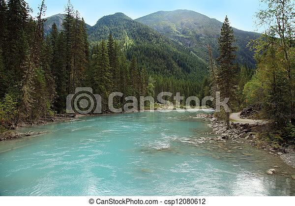 Río Athabaska, Columbia Británica - csp12080612