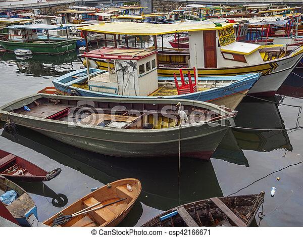 Botafogo bay in rio de janeiro - csp42166671
