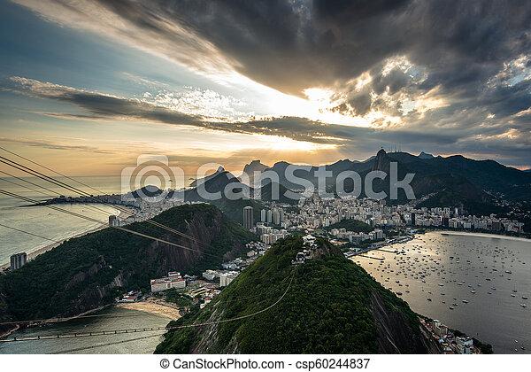 Río de Janeiro Sunset - csp60244837