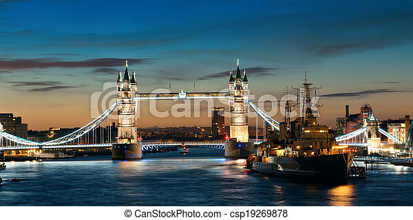 Thames River Londres - csp19269878