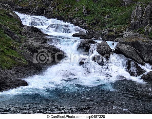 El poderoso río - csp0487320