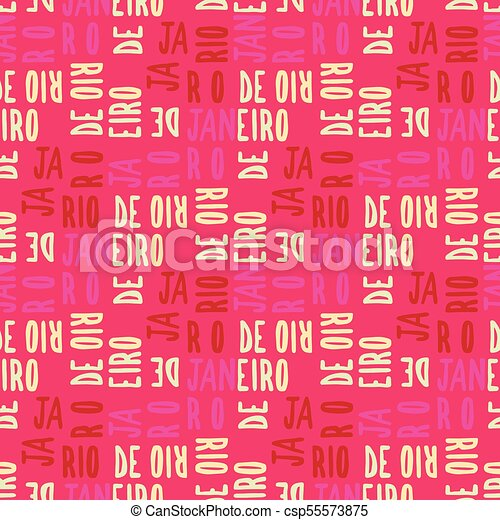 Río de Janeiro sin un patrón - csp55573875