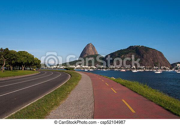 La montaña Sugarloaf en Río de Janeiro - csp52104987