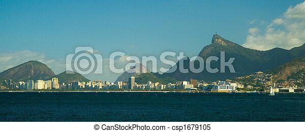 Cristo Redentor en Rio de Janeiro - csp1679105