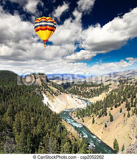 El río Yellowstone en Yellowstone NP - csp2052262