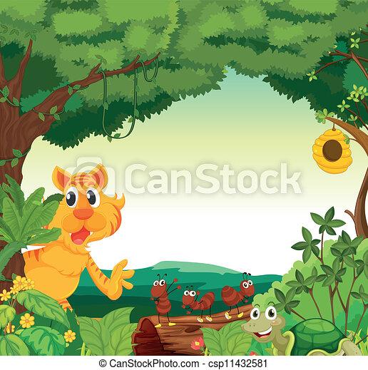 różny, zwierzęta - csp11432581