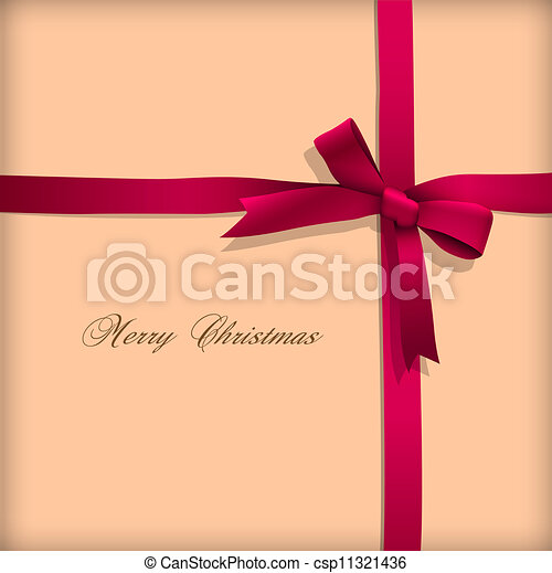 rózsaszínű, köszönés kártya, íj - csp11321436