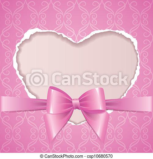 rózsaszínű, keret - csp10680570