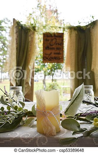 Decoración Matrimonio Rustico : Rústico decoración boda rústico al aire libre decoraciones boda