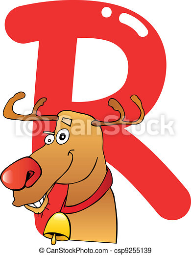 R for reindeer - csp9255139