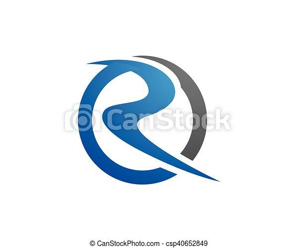 R letter logo template r letter logo template csp40652849 altavistaventures Image collections