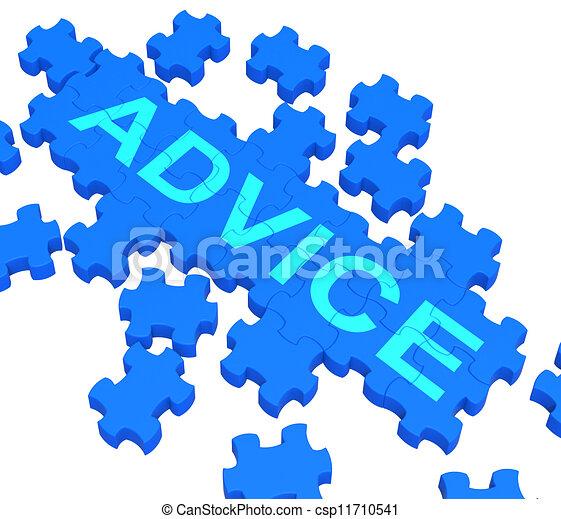 raad, het tonen, leiding, raadsel, steun - csp11710541
