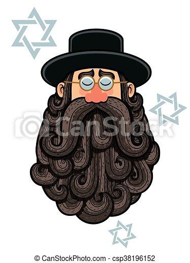 Rabbi Portrait - csp38196152