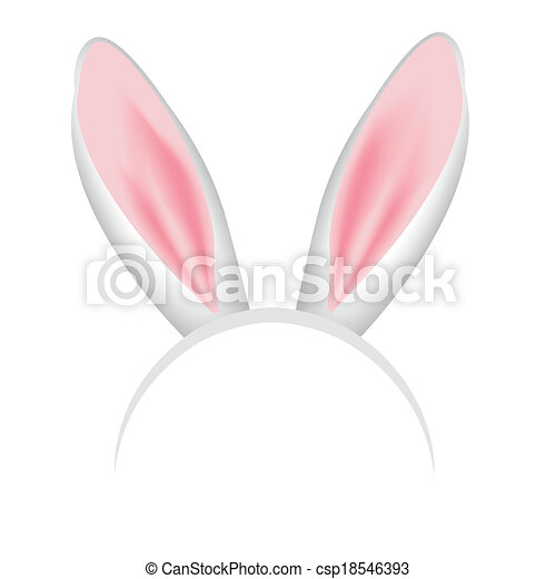 Rabbit Ears Crown Crown With Pink And White Bunny Ears