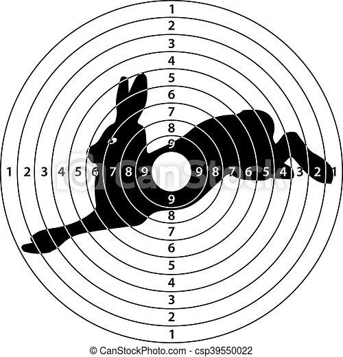 Rabbit Target Shooting Target Rabbit For Shooting Range