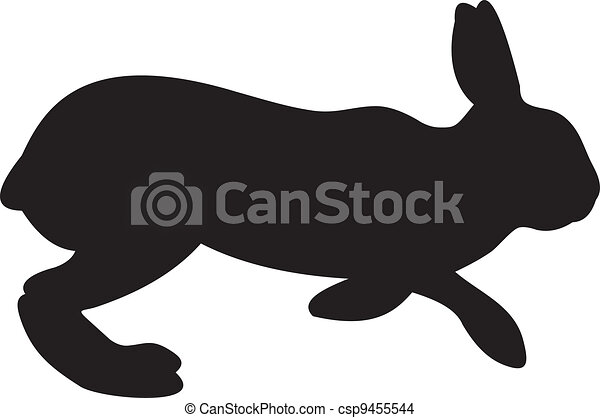 bunny rabbit vector illustration isolated on white eps vector rh canstockphoto com rabbit vector png rabbit vector png