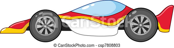 Race car - csp7808803