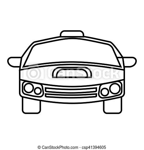 race car icon outline style race car icon outline vector rh canstockphoto com smart car outline vector car outline logo vector