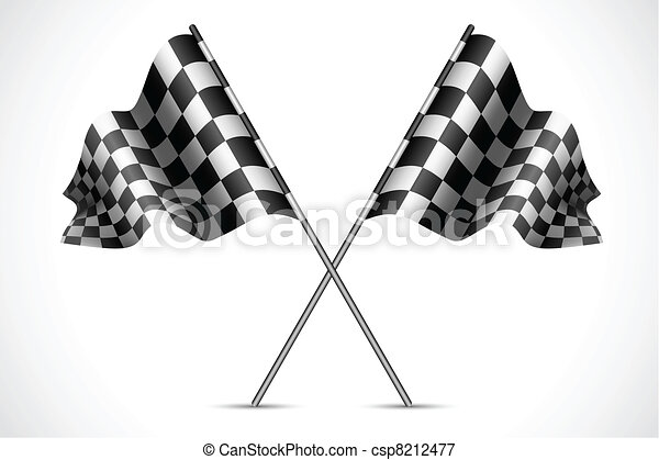 Race Flag - csp8212477