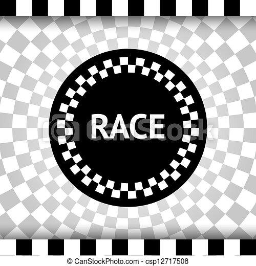 Race square background - csp12717508