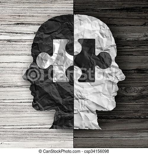 racial, ethnique, question, social - csp34156098